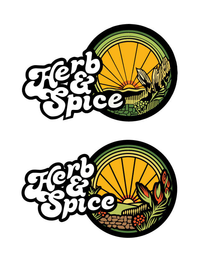Logo Herb and Spice