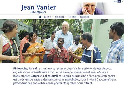 Site Web Jean Vanier