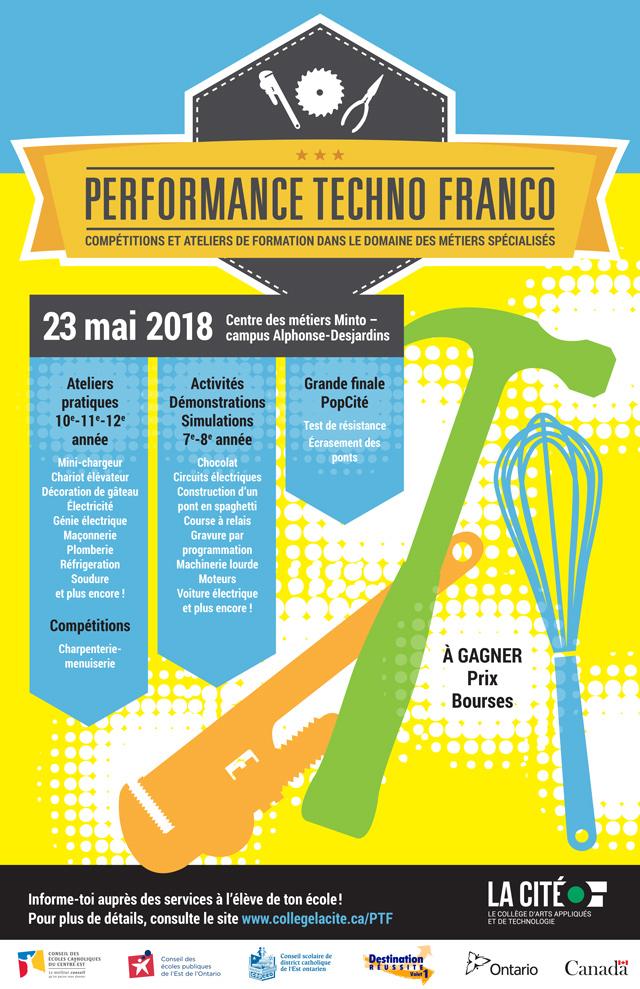 Collège La Cité: poster